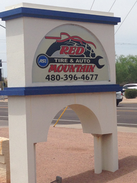 Red Mountain Tire storefront